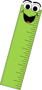 green-cartoon-ruler